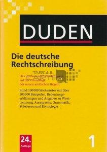Die deutsche Rechtschreibung / Ortografia limbii germane