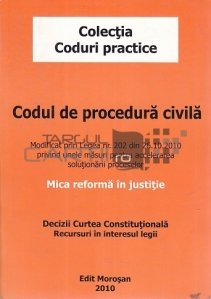 Codul de procedura civila,