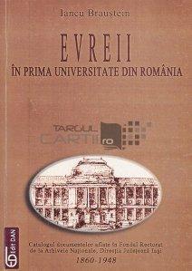 Evreii in prima Universitate din Romania
