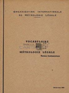 Vocabulaire de metrologie legale