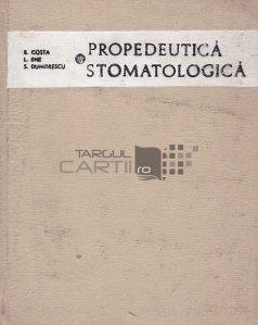 Propedeutica stomatologica
