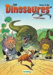 Les dinosaures en bande dessinee
