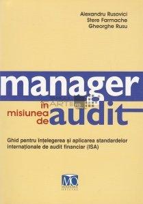 Manager in misiunea de audit