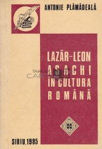 Lazar-Leon Asachi in cultura romana