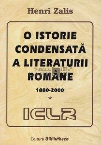 O istorie condensata a literaturii romane
