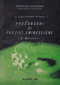 Precursori ai poeziei eminesciene