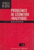 Problemes de geometrie analytique