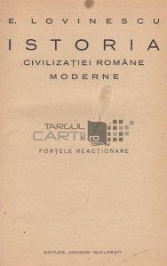 Istoria civilizatiei romane moderne