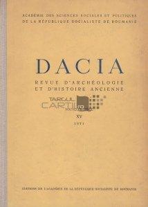 Dacia. Revue d'archeologie et d'histoire ancienne