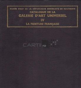 Catalogue de la Galerie d'Art Universel / Catalogul Galeriei de Arta Universala. Pictura franceza