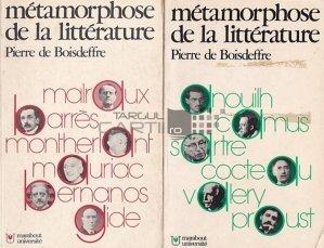 Metamorphose de la litterature