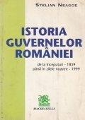 Istoria guvernelor Romaniei