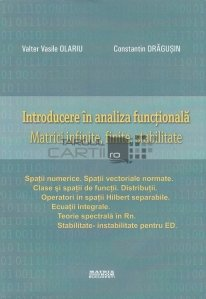 Introducere in analiza functionala