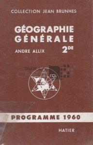 Geographie generale psyhique et humaine