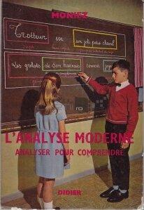 L'analyse moderne / Analiza moderna