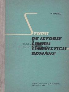 Studii de istorie a limbii si a lingvisticii romane