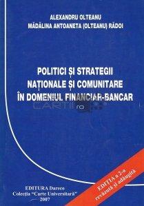 Politici si strategii nationale si comunitare in domeniul financiar-bancar