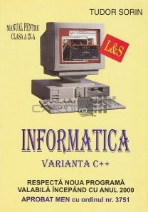 Informatica. Varianta C++