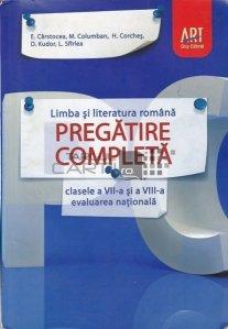 Pregatire completa pentru clasele VII-VIII si pentru evaluarea nationala