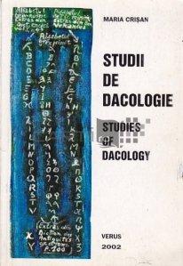 Studii de dacologie/Studies of Dacology