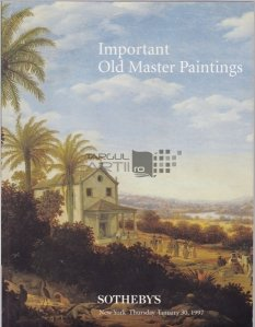 Important Old Master Paintings / Picturi vechi importante