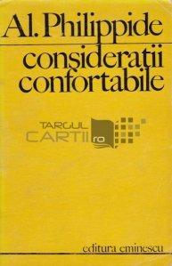 Consideratii confortabile