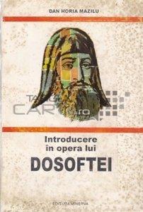 Introducere in opera lui Dosoftei