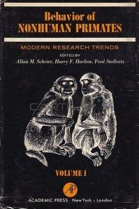 Behaviour of Nonhuman Primates / Comportamentul primatelor non-umane