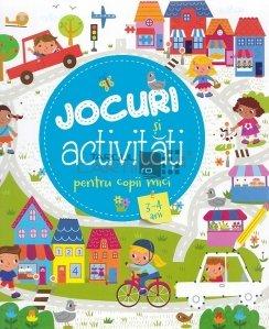 Jocuri si activitati pentru copii mici 3-4 ani