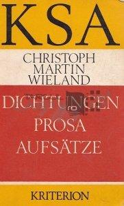 Dichtungen, prosa, aufsatze / Sigilii, proza, eseuri