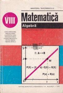 Matematica. Algebra.