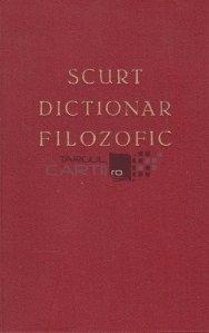Scurt dictionar filozofic