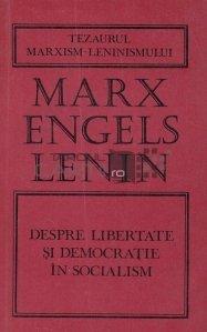 Despre libertate si democratie in socialism