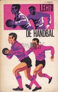 Lectii de handbal