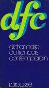 Dictionnaire du francais contemporain