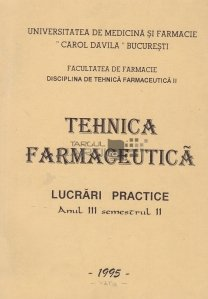Tehnica farmaceutica