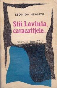 Stii, Lavinia, caracatitele...