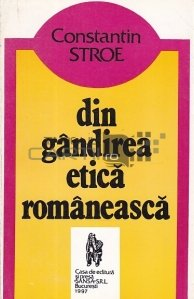 Din gandirea etica romaneasca