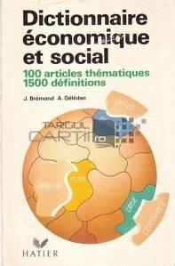 Dictionnaire economique et social / Dictionar economic si social