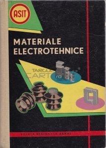 Culegere de articole de la prima consfatuire pe tara de materiale electrotehnice