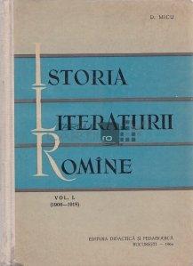 Istoria literaturii romine