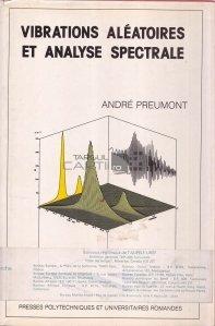 Vibrations aleatoires et analyse spectrale
