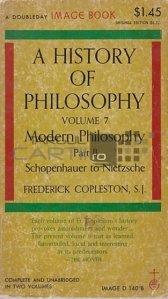 A history of philosophy / De la Schopenhauer la Nietzscha