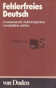 Fehlerfreies Deutsch / Germana fara erori