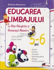 Educarea limbajului cu Rita Gargarita si Greierasul Albastru : 5-6 ani