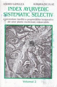 Index ayurvedic sistematic selectiv
