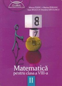 Matematica pentru clasele a VIII-a