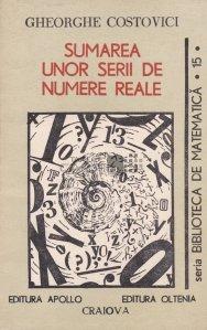 Sumarea unor serii de numere reale