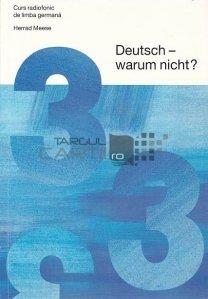 Deutsch - warum night?/Germana... de ce nu?