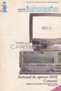 Sistemul de operare DOS. Comenzi
